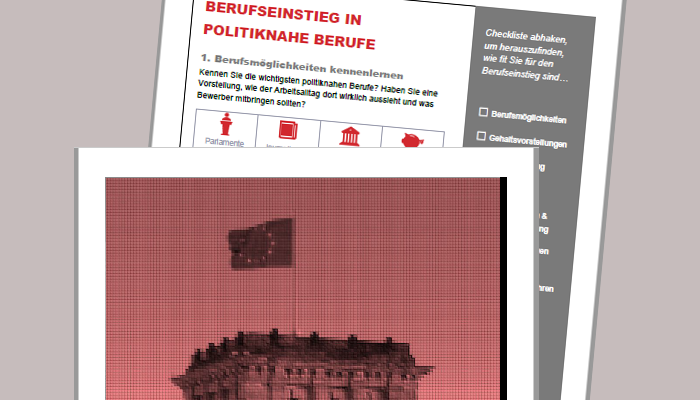 Checkliste Berufseinstieg Politik